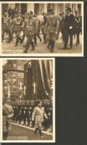 AH Mussolini vintage postcards. 2 included. Good condition. All autographs come with a Certificate
