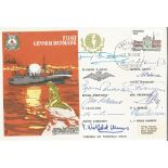Multiple signed by 10 people vital to the Operations of the Resistance RAFES SC15c cover. RAF