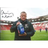 Chris Wilder Signed Sheffield United 8x12 Photo. Good condition. All autographs come with a