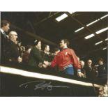 Football Ron Harris signed 10x8 colour photo. Ronald Edward Harris (born 13 November 1944), known by
