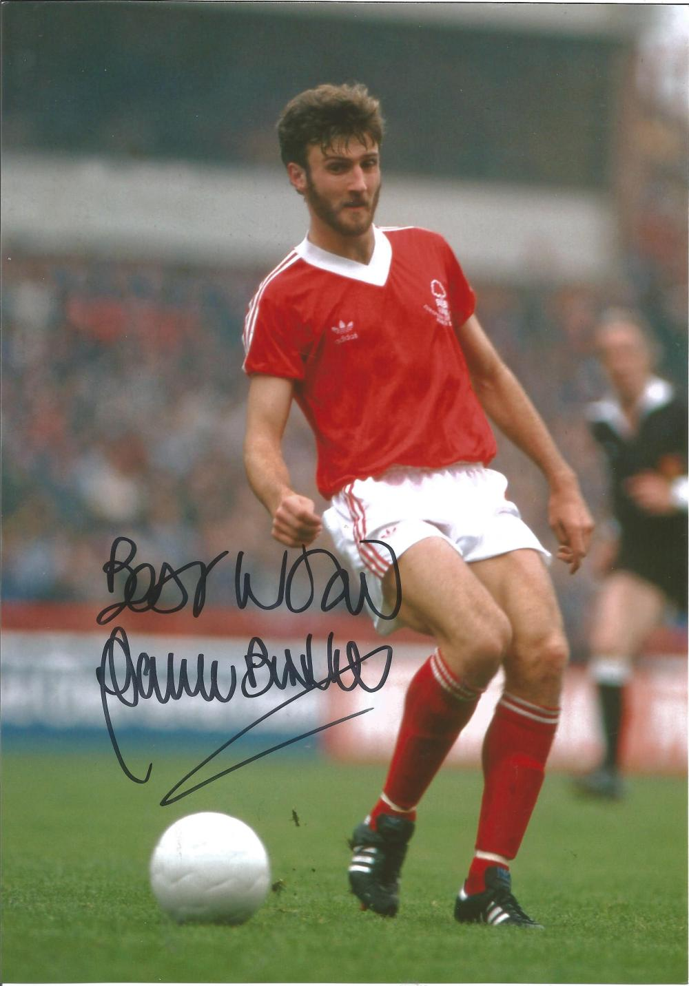 Garry Birtles Signed Nottingham Forest 8x12 Photo. Good condition. All autographs come with a