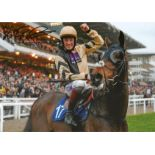 Sam Twiston Davies Signed Horse Racing Jockey 8x12 Photo. Good condition. All autographs come with a