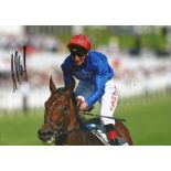 Adam Kirby Signed Horse Racing Jockey 8x12 Photo. Good condition. All autographs come with a
