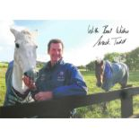 Mark Todd Signed Show jumping 8x12 Photo. Good condition. All autographs come with a Certificate