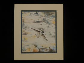 """B15 RARE Philip West ORIGINAL PENCIL DRAWING """"Concept Sketch Colour"""" signed by Philip West. This"""