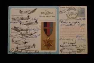 """B18 RARE """"Battle of Britain Special Cover No. 2"""" for the Rosette in the Awards Series bearing the"""