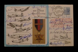"""B17 Rare """"Battle of Britain Special Cover No. 1"""" for the Rosette in the Awards Series bearing the"""