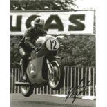 Giacomo Agostini signed 10x8 black and white photo. Giacomo Agostini born 16 June 1942 is an Italian
