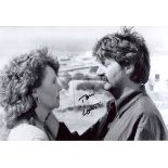 Shirley Valentine 8x12 movie scene photo signed by actor Tom Conti. Good condition. All autographs