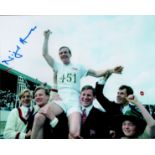Chariots of Fire Nigel Havers signed 10 x 8 inch colour photo. Medal celebration photo on