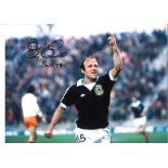 Archie Gemmill Scotland Signed 16 x 12 inch football photo. Good condition. All autographs come with