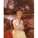 Connie Stevens, 8x10 photo signed by legendary Hollywood actress and pop star Connie Stevens. Good