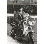 Phil Daniels signed 12x8 Quadrophenia black and white photo. Philip William Daniels born 25