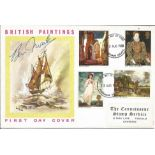 Artist Ben Maile signed FDC to commemorate British paintings. Full Set. Postmark 2nd August 1968.