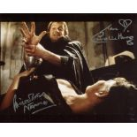 Dracula AD1972 horror movie photo signed by Caroline Munro and Christopher Neame. Good condition.