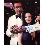 007 Bond girl Lana Wood as Plenty O'Toole signed 8x10 photo from Diamonds are Forever. Good