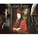 Harry Potter 8x10 movie photo signed by actress Melita Clarke who was a Wizard in the films. Good