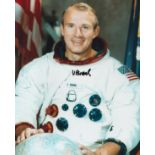 Space Vance Brand signed 10x8 colour photo. Vance DeVoe Brand born May 9, 1931, is an American