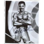 Carl Weathers, stunning 8x10 Rocky movie photo signed by actor Carl Weathers. Good condition. All