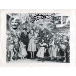 Wizard of Oz 8x10 photo signed by munchkin actress Donna Stewart Hardway, scarce signature from a