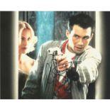 Christian Slater signed 10x8 colour photo. Christian Michael Leonard Slater born August 18, 1969, is