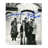 Willy Wonka 8x10 photo signed by actor Paris Themmen as Mike Tee Vee. Good condition. All autographs