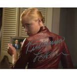 Terminator 3 movie photo signed by actress Kristanna Loken. Good condition. All autographs come with