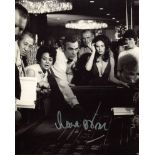 Diamonds are Forever 8x10 Bond movie scene photo signed by Bond girl Lana Wood as Plenty O'Toole.