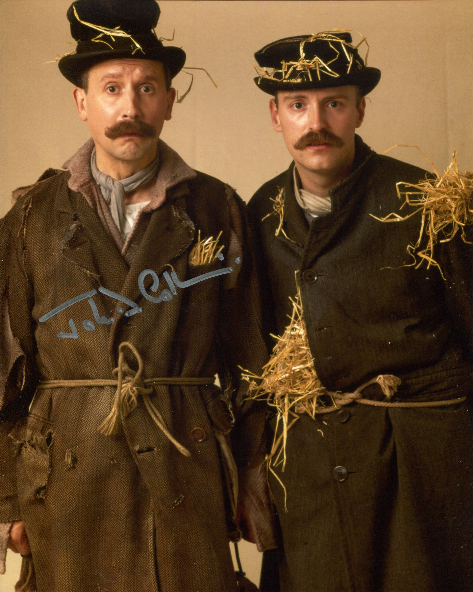 Allo Allo, 8x10 photo from the comedy Allo Allo signed by actor John D Collins who played one of the