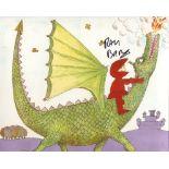 Mr Benn 8x10 photo from the children's TV series 'Mr Benn' signed by series narrator Ray Brooks.