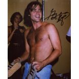 BJ and the Bear 8x10 photo signed by actor Greg Evigan. Good condition. All autographs come with a