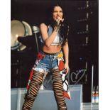 Jessie J, nice 8x10 concert photo signed by British pop star Jessie J. Good condition. All
