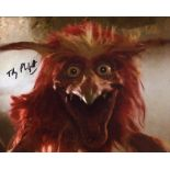 The Dark Crystal, 8x10 movie photo signed by actor Toby Philpott. Good condition. All autographs