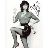 Allo Allo. 8x10 photo from the comedy series Allo Allo signed by actress Vicki Michelle who played