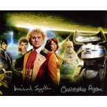 Doctor Who 8x10 inch photo scene signed by actor Christopher Ryan who played Lord Kiv and Michael
