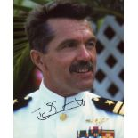 Top Gun, 8x10 photo signed by actor Tom Skerritt who starred as 'Viper'. Good condition. All
