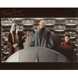 Star Wars 8x10 photo signed. Y actor Jerome Blake as Mas Amedda. Good condition. All autographs come