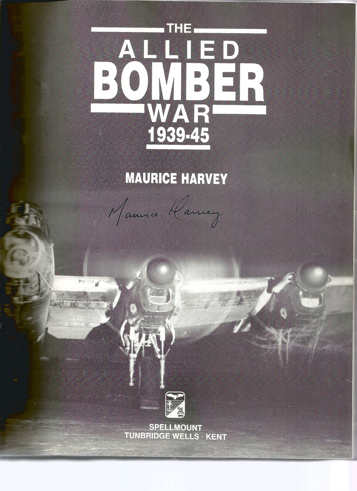 Maurice Harvey. The Allied Bomber War 1939 45. First Edition WW2 hardback book in good condition. - Image 2 of 2