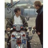 Quadrophenia. 8x10 photo from the classic British musical movie Quadrophenia signed by actor Phil
