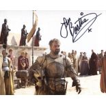 Alexander, the epic Colin Farrell movie 8x10 photo signed by actor Ian Beattie as Antigonus. Good