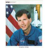 Dr Martin J Fettman signed 10x8 colour Nasa portrait photo. Good condition. All autographs come with
