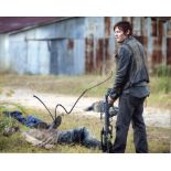 The Walking Dead 8x10 photo signed by actor Norman Reedus. Good condition. All autographs come