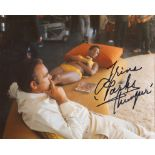 007 Bond Girl 8x10 inch Bond movie Diamonds Are Forever photo signed by actress Trina Parks as