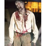 The Walking Dead TV series 8x10 photo signed by actor Michael Koske. Good condition. All