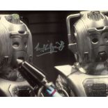 Doctor Who & the Cybermen 8x10 photo signed by actor Michael Kilgarriff. Good condition. All