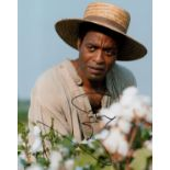 Chiwetel Ejiofor signed 12 Years a Slave 10 x 8 inch colour photo. Good condition. All autographs