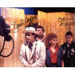 Doctor Who 8x10 photo signed by Sophie Aldred and Bonnie Langford. Good condition. All autographs