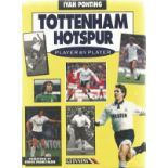 Football Tottenham Hotspur player by player multi signed hard back book includes over 30 Spurs