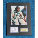 Helen Sharman 17x12 mounted and mounted signature piece includes superb colour photo and white
