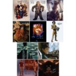 Blowout Sale! Lot of 10 Star Wars hand signed 10x8 photos. This beautiful lot of 10 hand signed